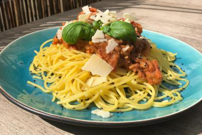 spaghetti a la bolgnese